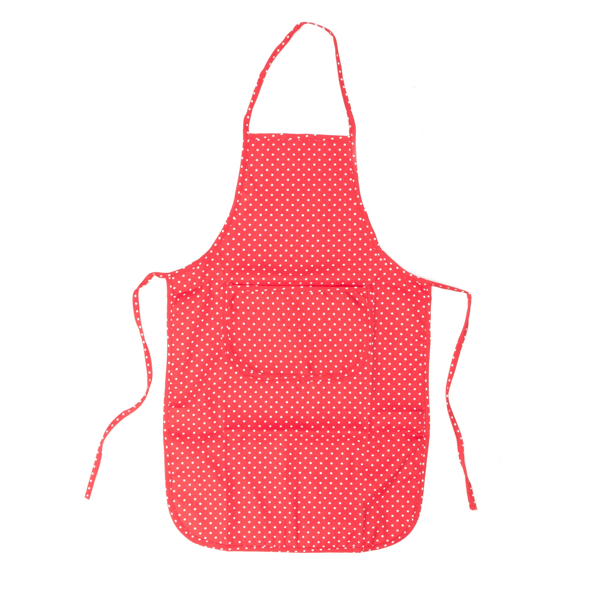 Orchard Collection Red Dotty Apron