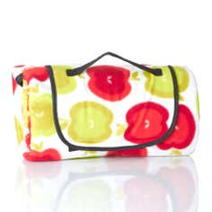 Red Apples Foldaway Picnic Mat