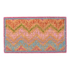 Exotic Stripe Coir Doormat