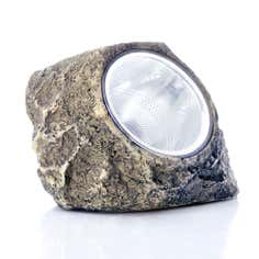 Outdoor LED Solar Rock Light