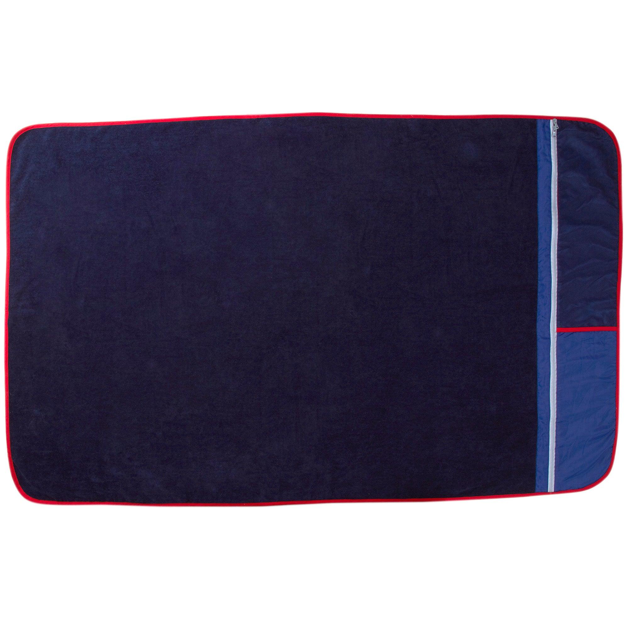 Dark Blue Smart Beach Towel