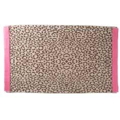 Leopard Print Beach Beach Towel