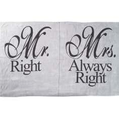Mr & Mrs Jumbo Beach Towel