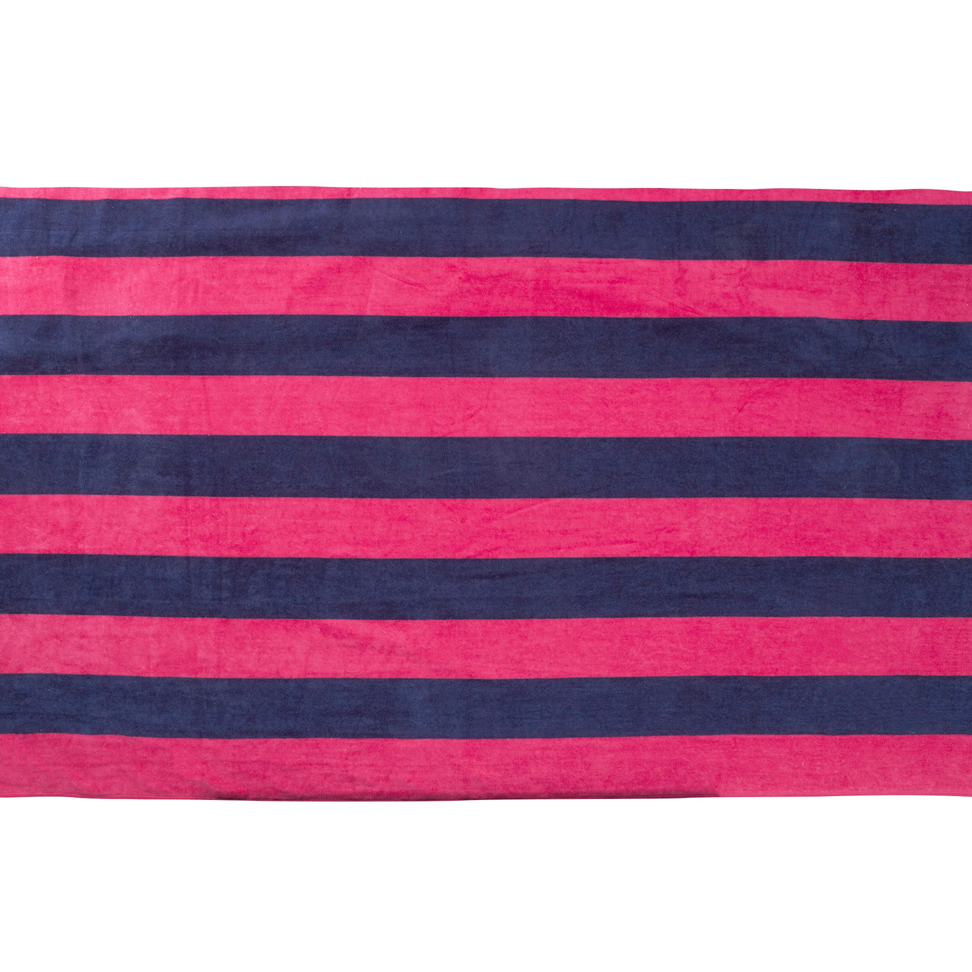 Pink Stripe Jumbo Beach Towel