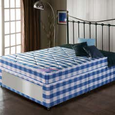 Quilted Comfort End Slider Large Divan Bed