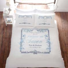 Blue Jasmin Collection Duvet Cover