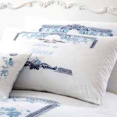 Blue Jasmin Collection Housewife Pillowcase