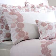 Dusky Pink Phoebe Housewife Pillowcase
