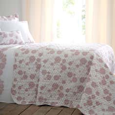 Dusky Pink Collection Phoebe Bedspread