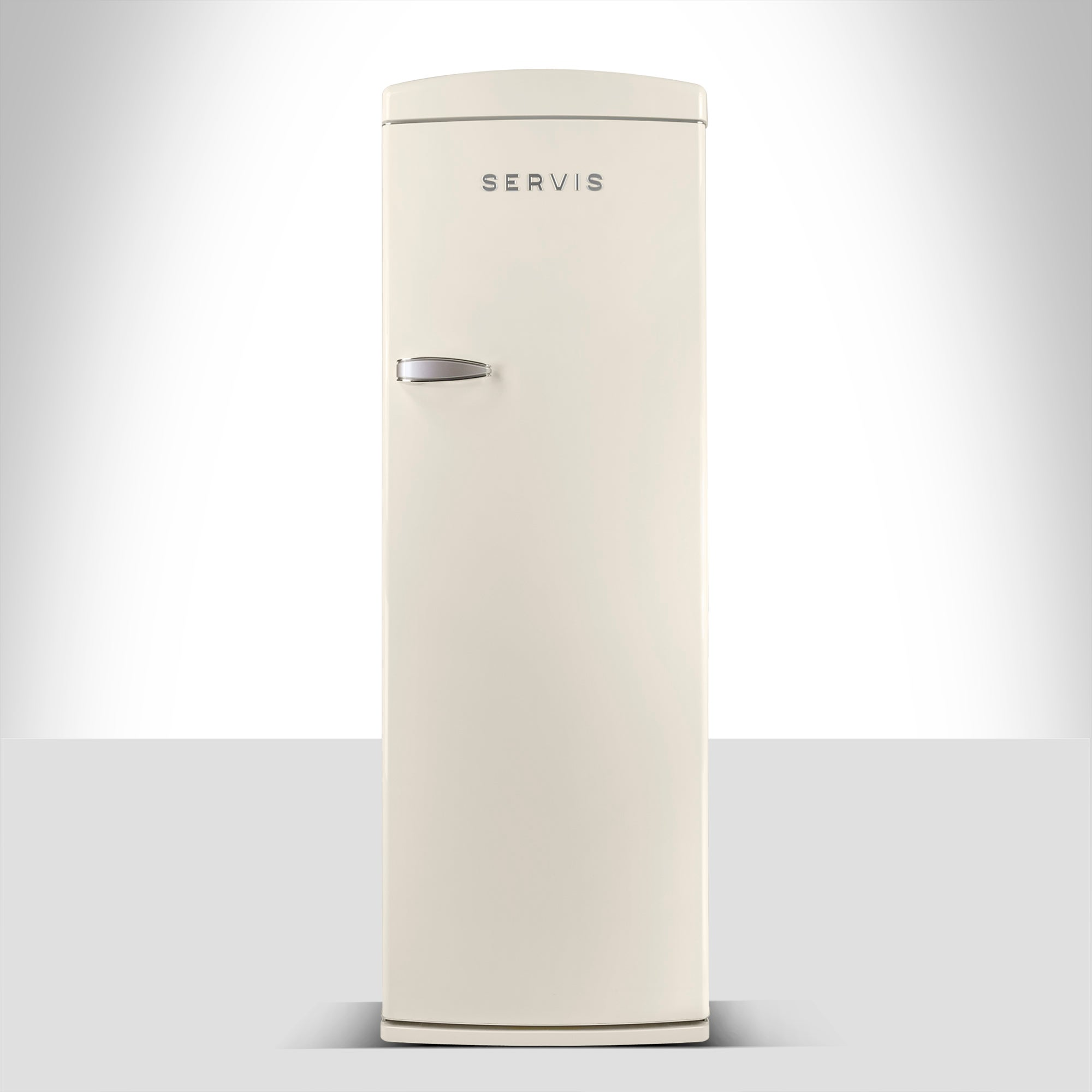 Servis R60170C Cream Retro Style Fridge