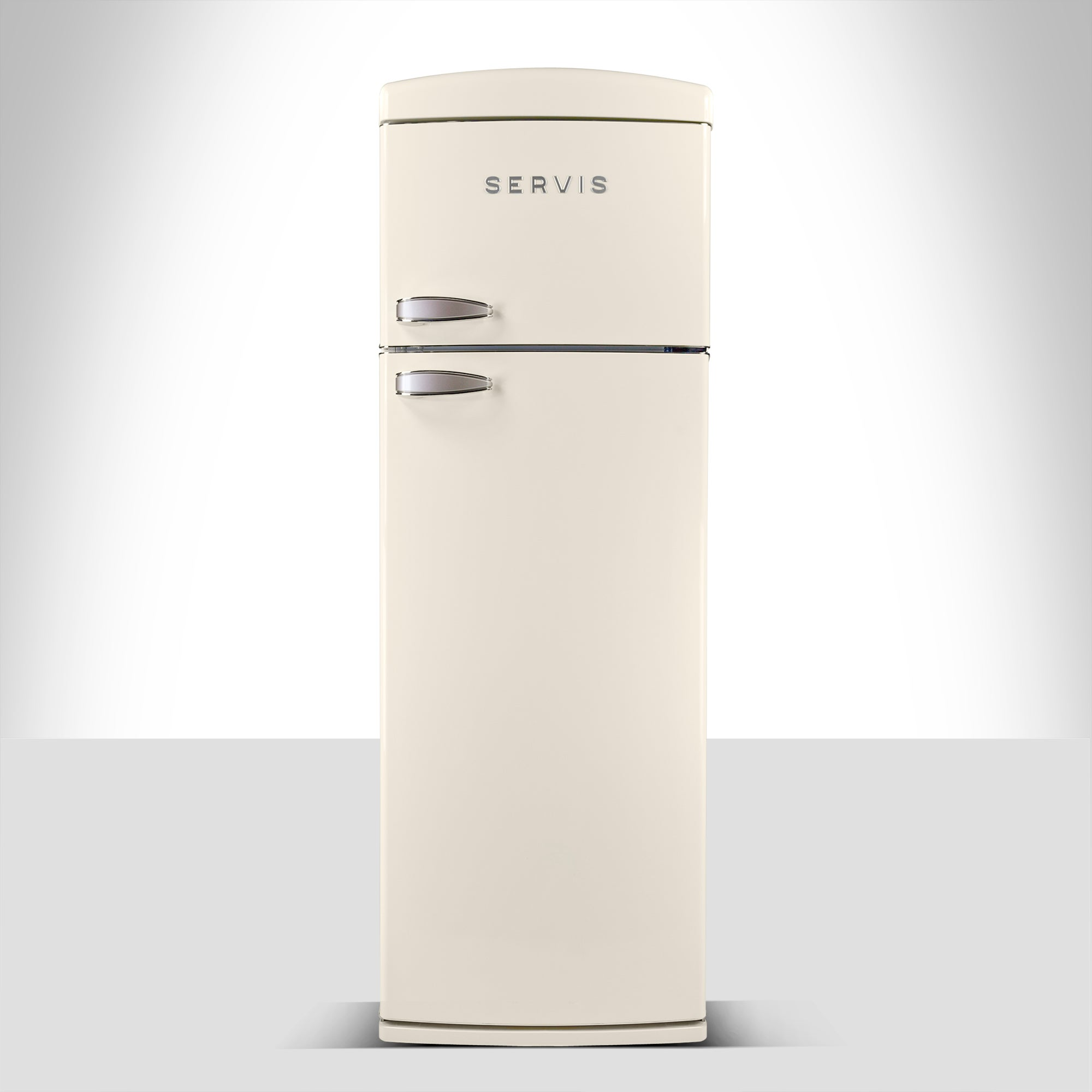 Servis T60170C Cream Retro Style Topmount Fridge Freezer