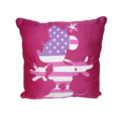 Disney Minnie Mouse Flag Cushion