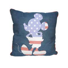 Disney Mickey Mouse Flag Cushion