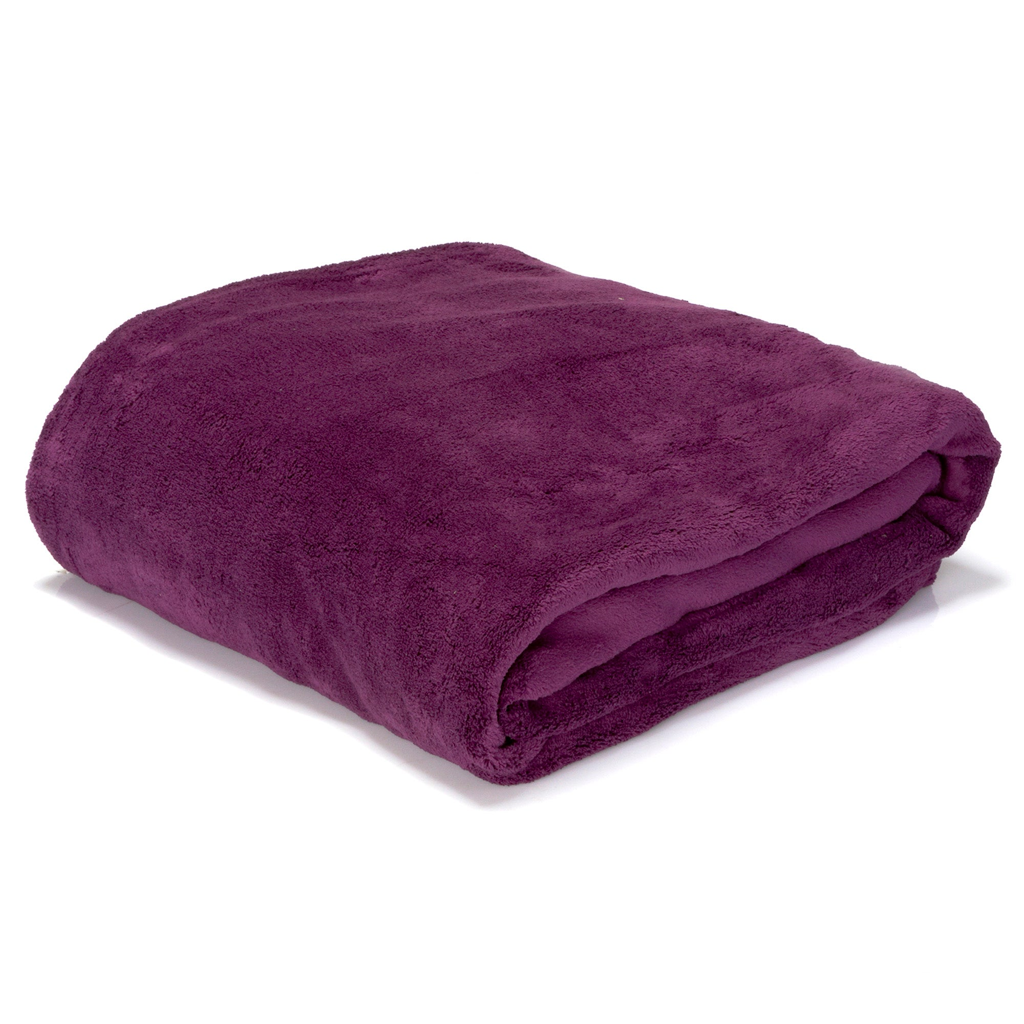 Blackcurrant Winter Seriously Soft Blanket