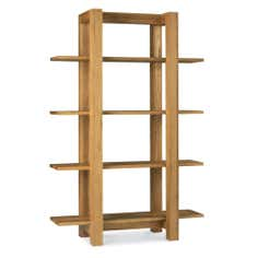 Knox Natural Oak Open Shelf Unit