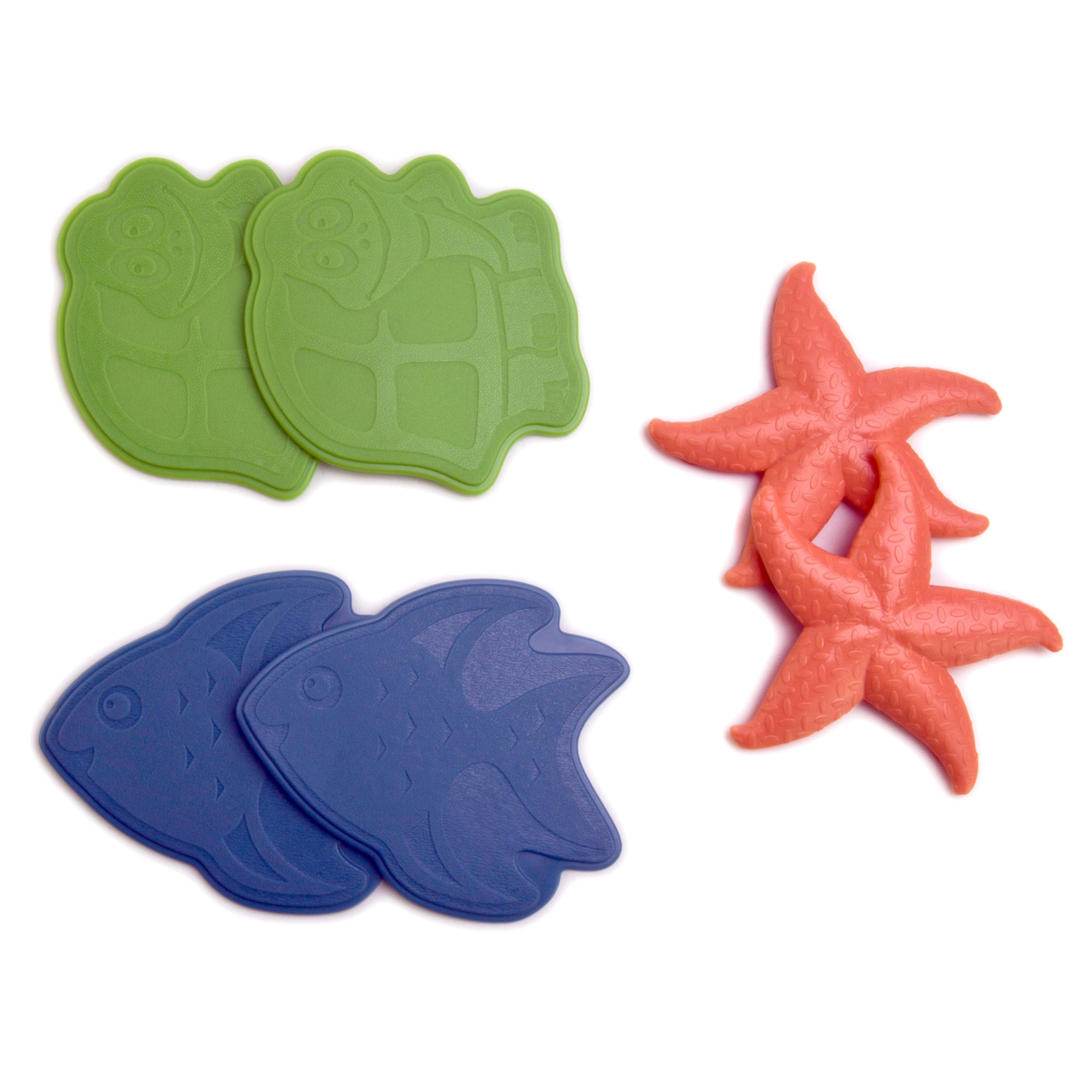 Pack of 6 Animal Splats