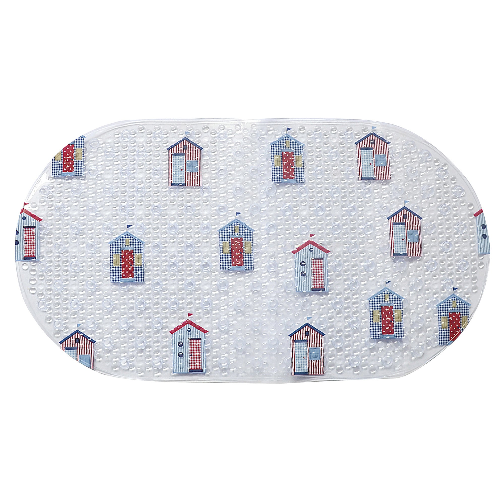 Beach Huts Bath Mat