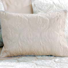 Champagne Lalique Collection Boudoir Cushion