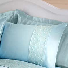 Duck Egg Eliza Sparkle Collection Housewife Pillowcase
