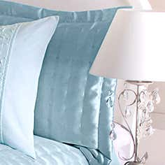 Duck Egg Eliza Sparkle Collection Pillow Sham