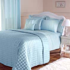 Duck Egg Eliza Sparkle Collection Bedspread