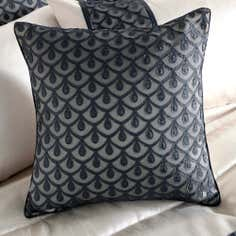 Black Franklin Collection Cushion