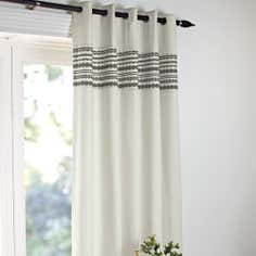 Natural Lennox Thermal Eyelet Curtains