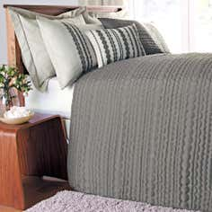 Natural Lennox Collection Bedspread
