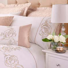 Gold Alura Collection Housewife Pillowcase