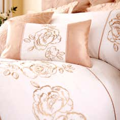 Gold Alura Collection Boudoir Cushion