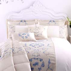 Blue Chateau Collection Duvet Cover