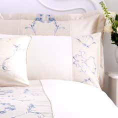 Blue Chateau Collection Housewife Pillowcase