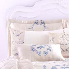 Blue Chateau Collection Pillow Sham