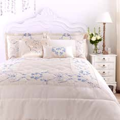 Blue Chateau Collection Bedspread