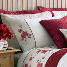 Red Country Rose Collection Housewife Pillowcase