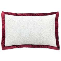Red Country Rose Collection Pillow Sham