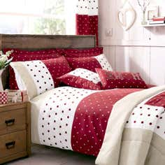 Red Country Spot Collection Duvet Cover