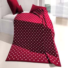 Red Country Spot Thermosoft Throw
