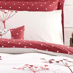 Red Cow Parsley Collection Housewife Pillowcase