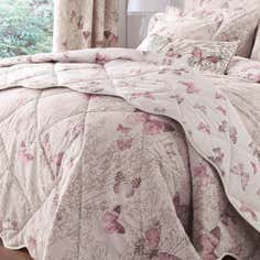 Blush Botanica Butterfly Collection Bedspread