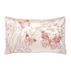 Blush Botanica Butterfly Collection Boudoir Cushion