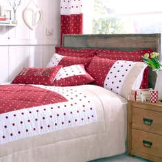 Red Country Spot Collection Bedspread