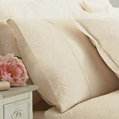Cream Ebony Collection Housewife Pillowcase