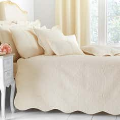 Cream Ebony Collection Bedspread