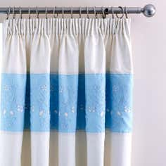 Duck Egg Felicity Thermal Pencil Pleat Curtains