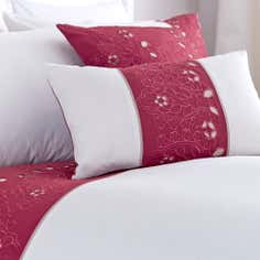 Red Felicity Collection Boudoir Cushion