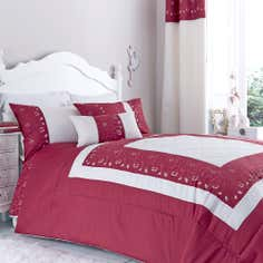 Red Felicity Collection Bedspread