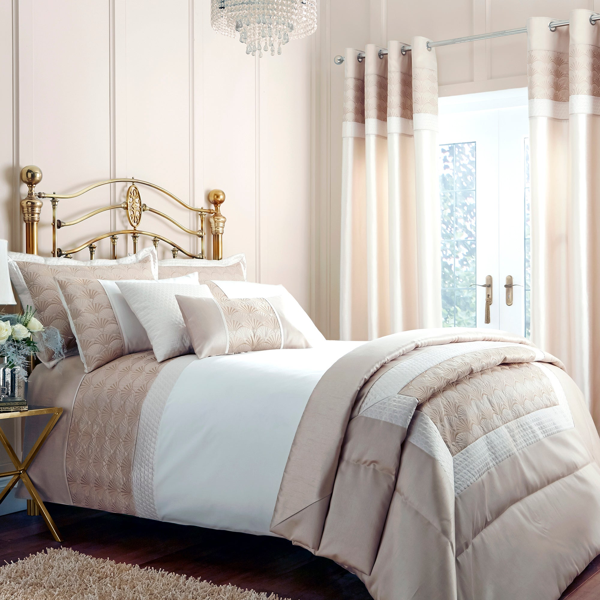 Gold Gatsby Collection Duvet Cover