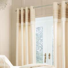 Gold Gatsby Thermal Eyelet Curtains