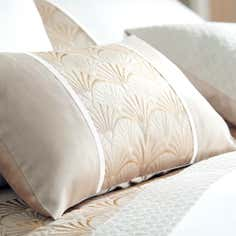 Gold Gatsby Collection Boudoir Cushion
